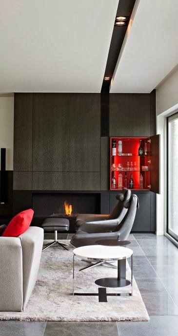 75 ideas de chimeneas con estilo ideas eco chimeneas - Chimeneas con estilo ...