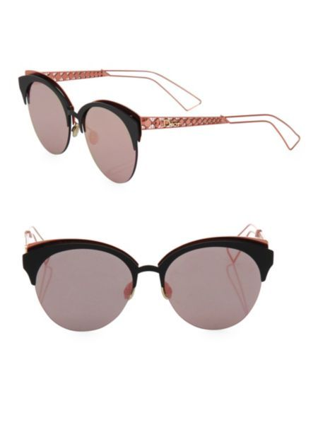 9d0b4c548394 Dior - Diorama 55MM Rounded Clubmaster Sunglasses