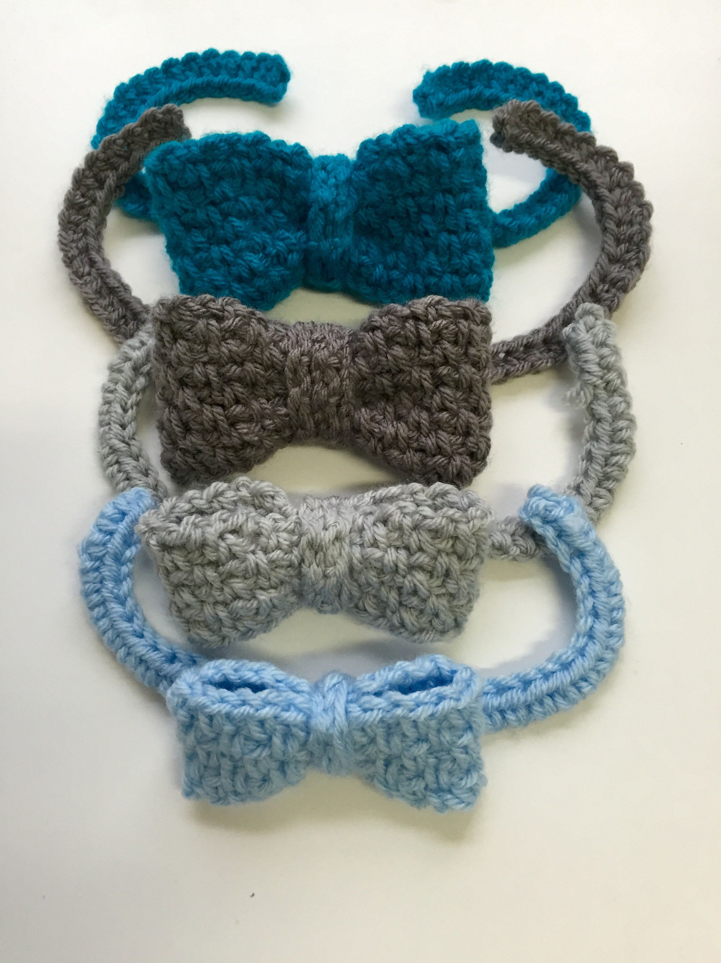 Crochet Pattern - Woven Dressy Bow Tie for Babies, Boys, and Men ...