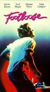 """""""Footloose Poster"""" Fell in love with Kevin Bacon.  A rebel against the parents move.  Good, if you don't throw out all the wisdom gained by the over thirty crowd."""