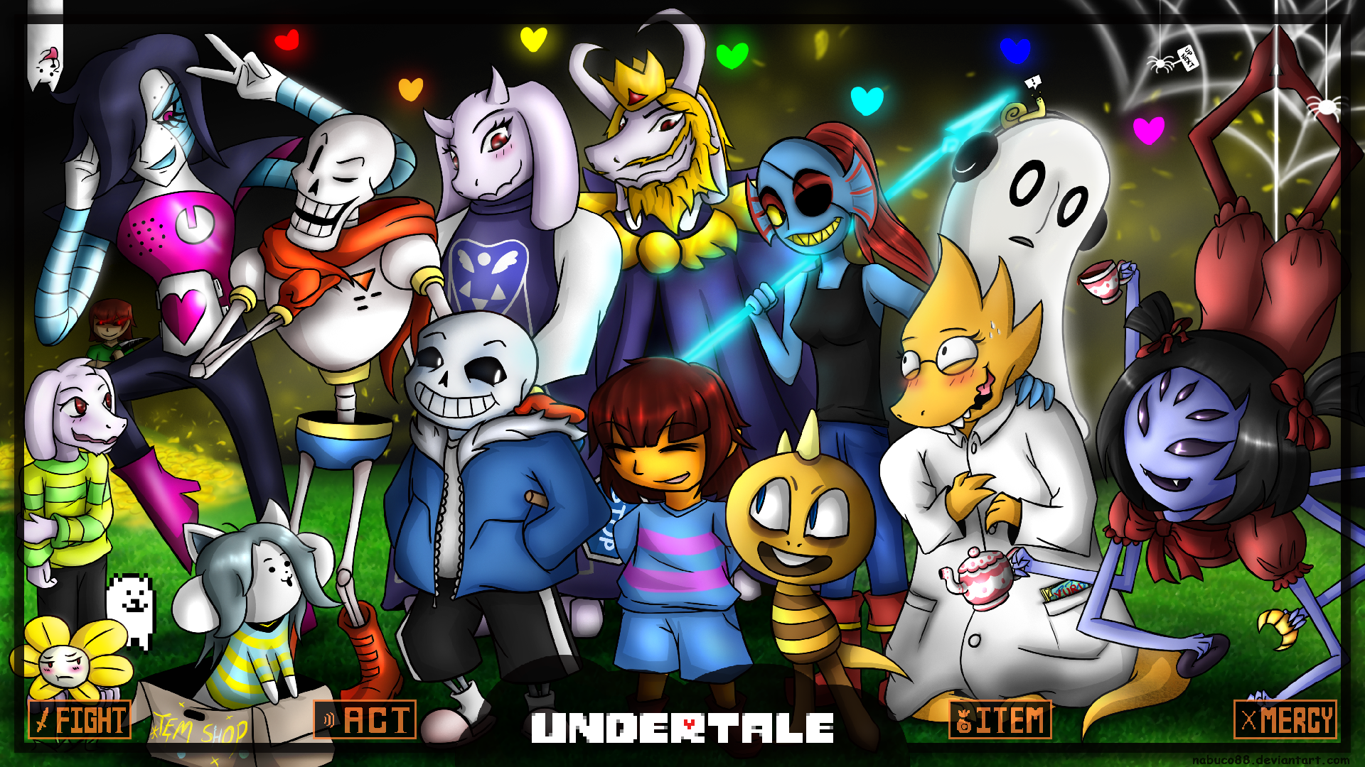Undertale Cute Drawings Main Chartors Wd Undertale Wallpaper By Nabuco88 On Deviantart Undertale Undertale Cute Undertale Art