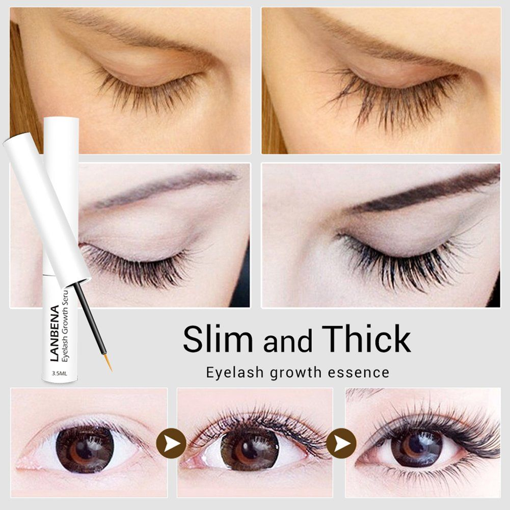e7edc88c042 Eyelash Growth Serum Enhancer Longer Fuller Thicker Lashes Lengthening Eye  Makeup Cosmetic ** You can find more details by visiting the image link.