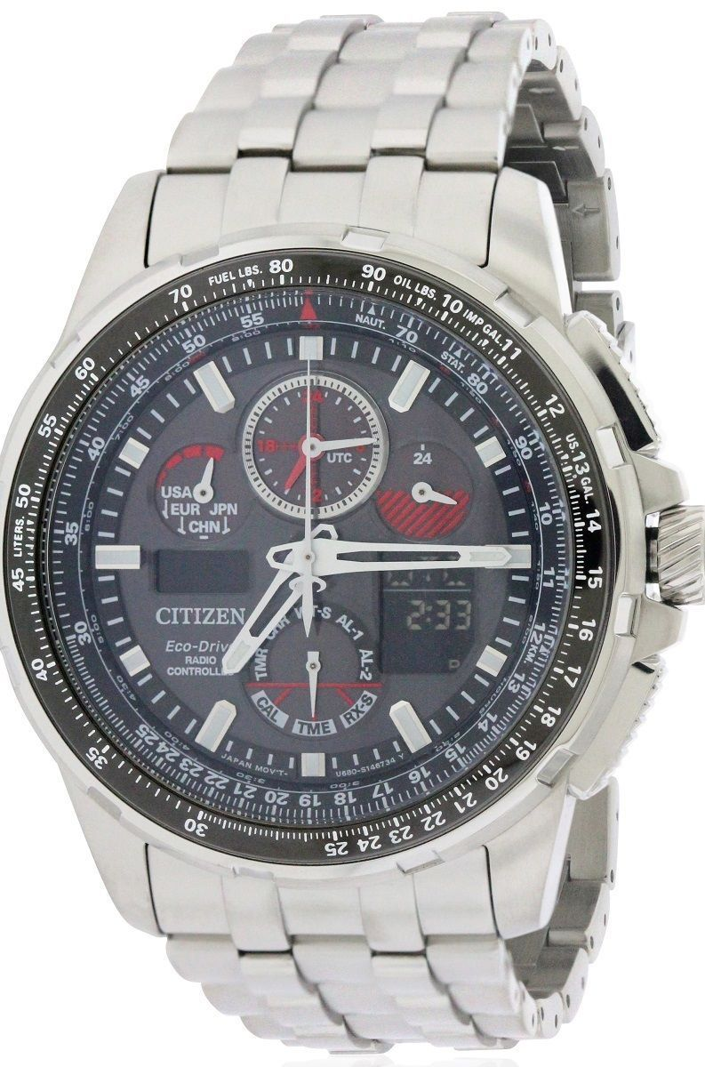 a825ee81295 Citizen Eco-Drive Skyhawk A-T Chronograph Mens Watch JY8050-51E in ...
