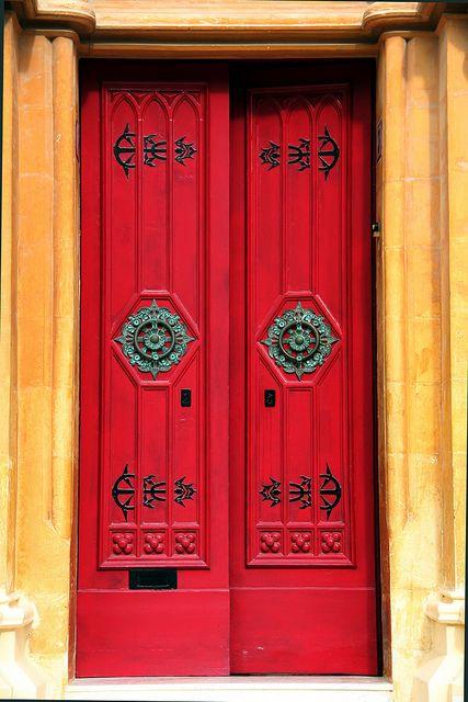 The Red Door Cool Doors Old Doors Unique Doors