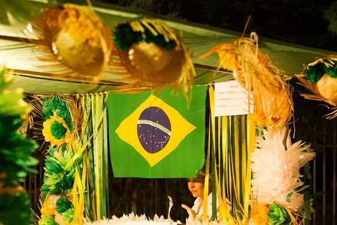 Decoracao De Festa Junina Com Tema Da Copa Decoracao De Festa