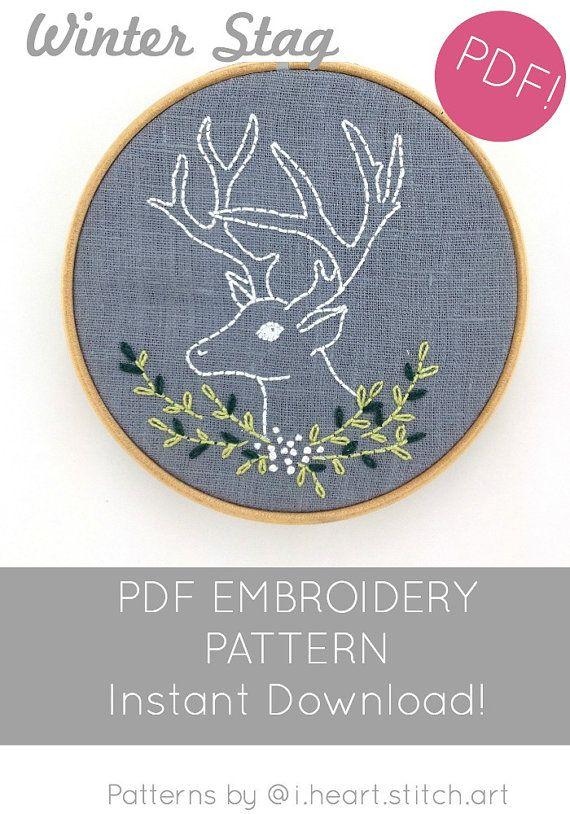 Unique Wall Art room decor Deers elegant beaded embroidery DIY kit