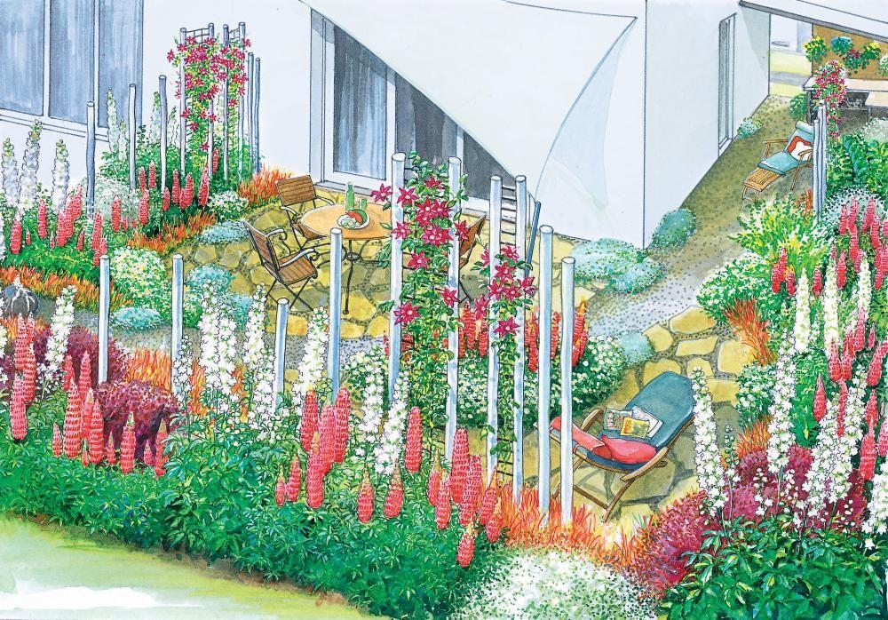 Gestaltungsideen für ein Eckgrundstück Gardens