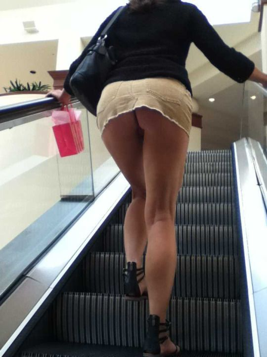 Toney recommend best of upskirt escalator sexy