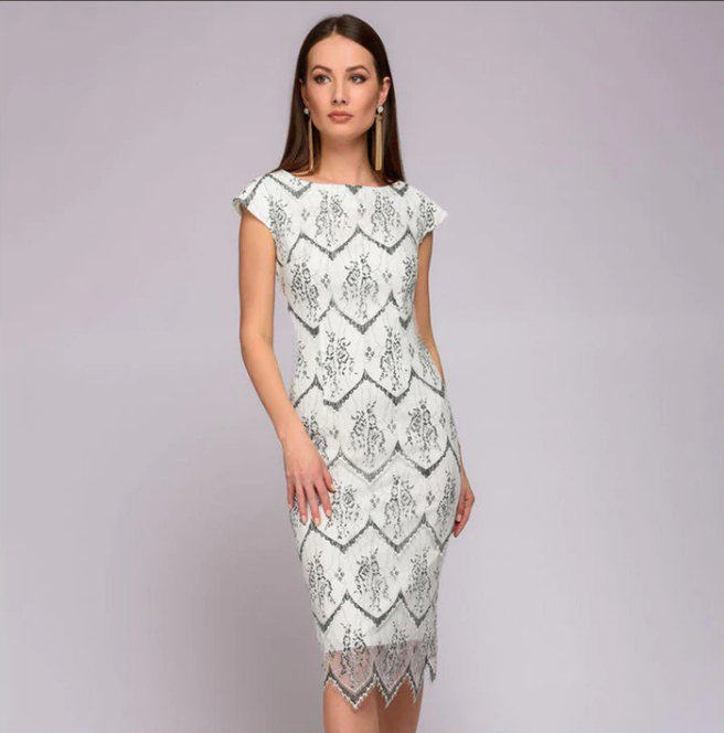 accd176a5252 Women Sexy Lace Sheath Dress Slim Short Sleeve Hot Night Club Dress Elegant  Spring Summer Vestidos