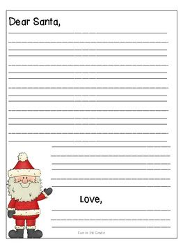 Letter to santa template 3 pinteres letter to santa template 3 more spiritdancerdesigns Gallery