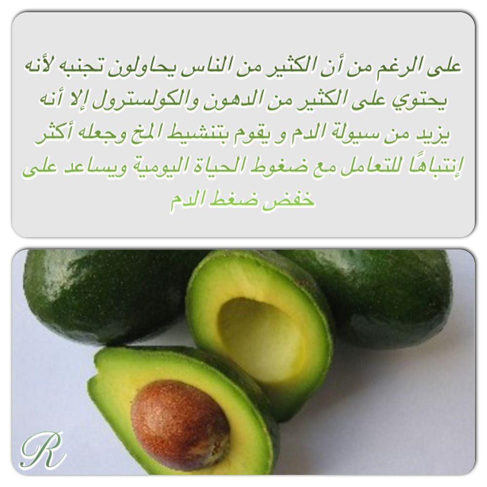 Health Tips World Syria Avocado Roulanaji Lebanon Uae Brain Q8 دماغ كويت سوريا سعودية لبنان شوكولاتة فوائد ذ Fruit Fruits Vegetables Avocado