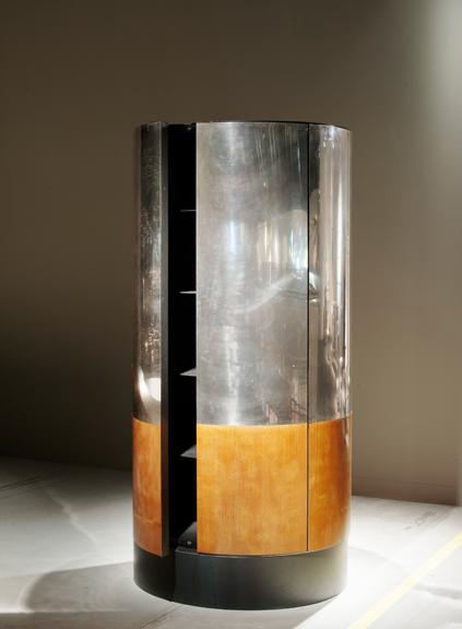 Vincenzo De Cotiis - Self-standing Cylindrical Cabinet, Prototype/Unique Piece, 2012