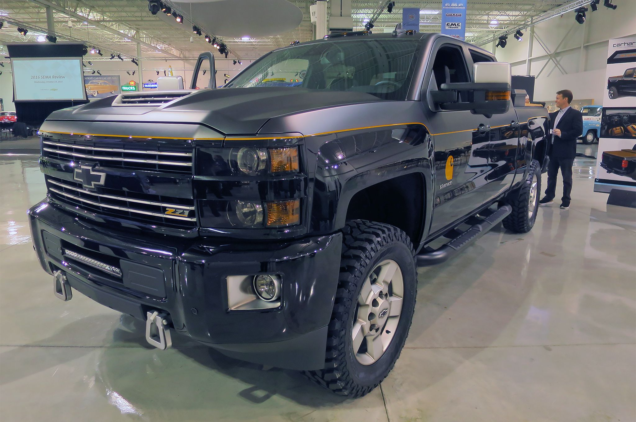 Chevrolet Silverado Hd Carhartt Revealed Before Sema Silverado
