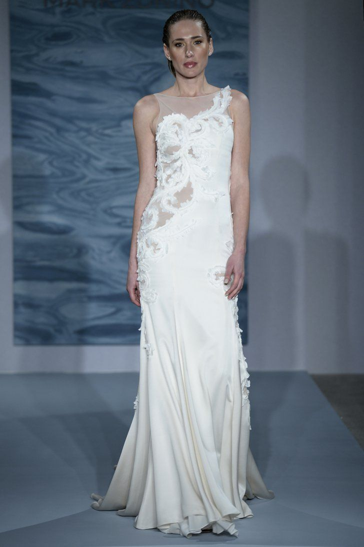 Mark zunino wedding dresses  Attention Brides The  Biggest Wedding Dress Trends For Fall