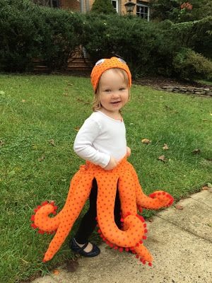 Octopus Costume for Toddlers bonnieprojectsblogspot Opopus - kid halloween costume ideas
