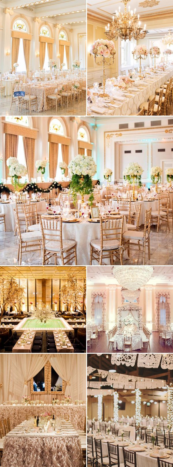 Luxury wedding decoration ideas   Stunning Luxury Indoor Reception Decoration Ideas You donut Want