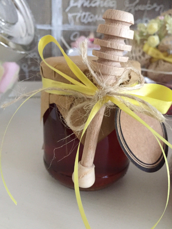 Matrimonio Rustico Bomboniere : Bomboniera miele e spargimiele matrimonio