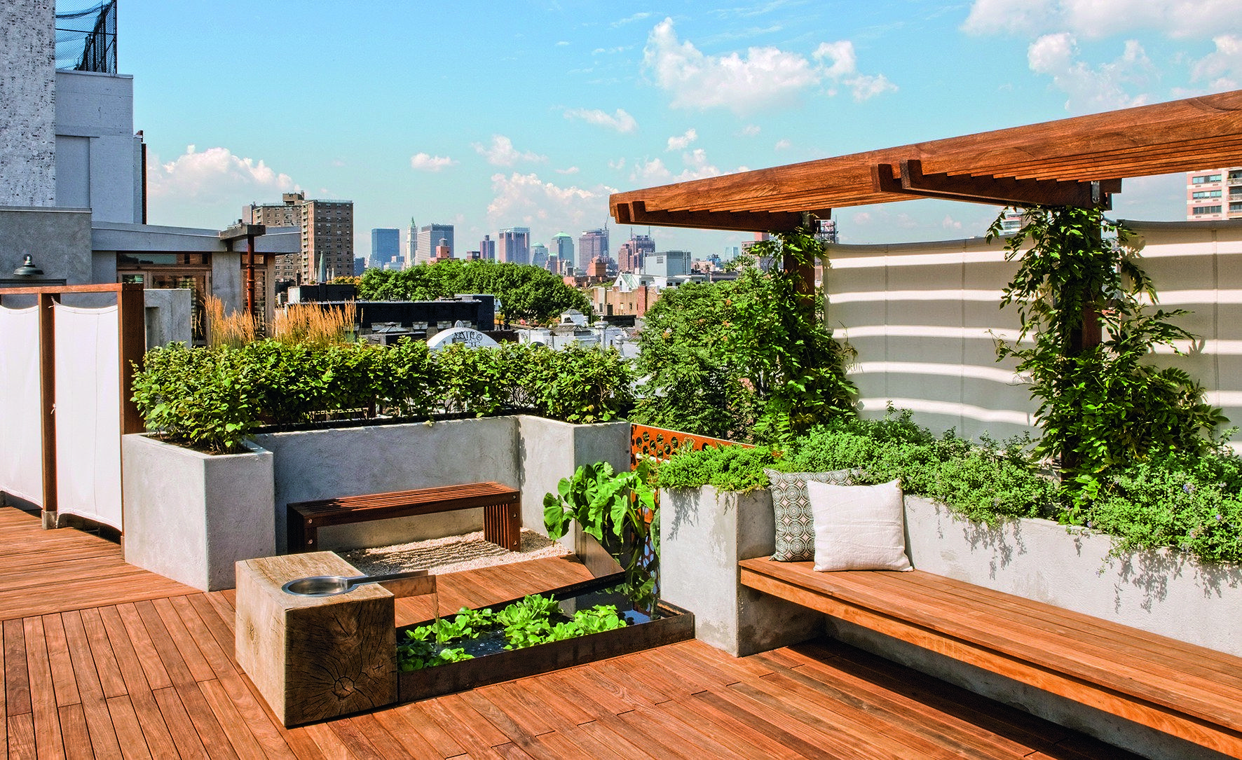 9 Remarkable Rooftop Garden Designs Around The World Roof Garden Design Roof Landscape Rooftop Design
