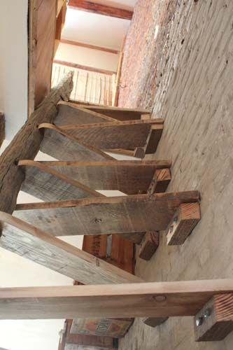 Trap naar kelder wonen huis pinterest loft stairs for Trap naar vliering