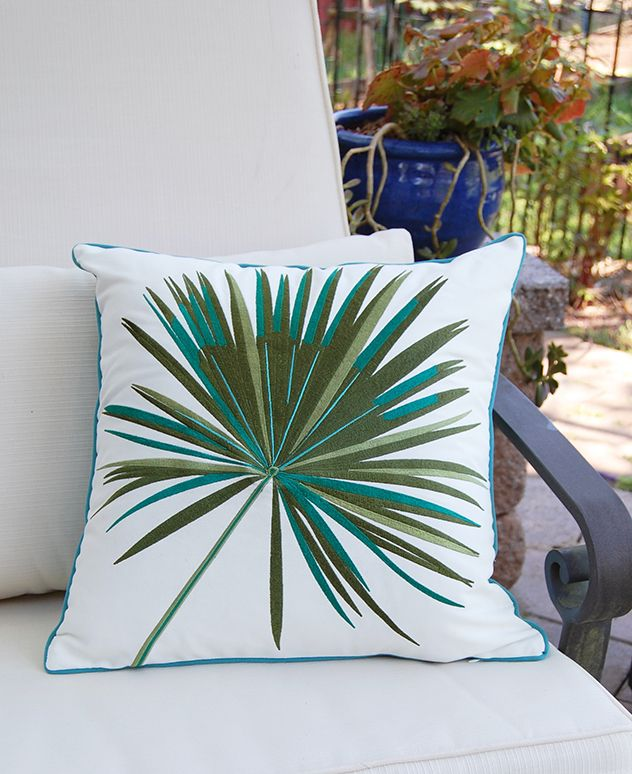Inside A Tiny Florida Cottage Full Of Tropical Colors: Outdoor Sunbrella® (With Images