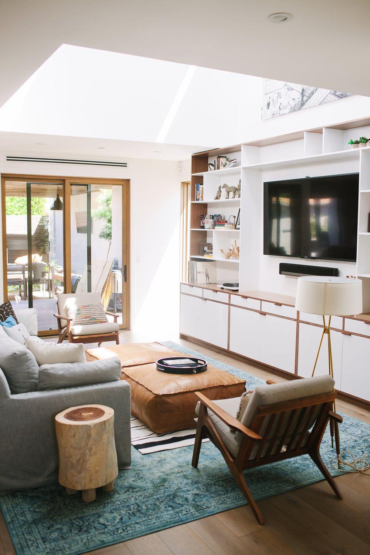 One massive custom designed storage unit interior design