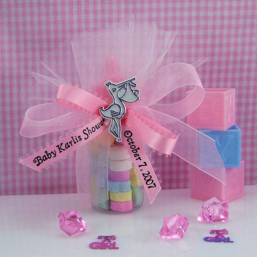 50 Pink Acrylic Heart Embellishments Craft Shower Christening Favours Cards