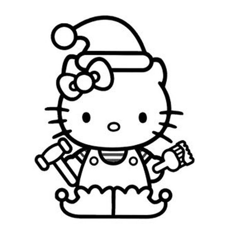 28 Pumpkin Stencils For The Best Hello Kitty Themed Halloween Hello Kitty Coloring Hello Kitty Colouring Pages Kitty Coloring