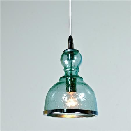 Colored seeded glass pendant iluminacin de las casas y cristales colored seeded glass pendant aloadofball Image collections