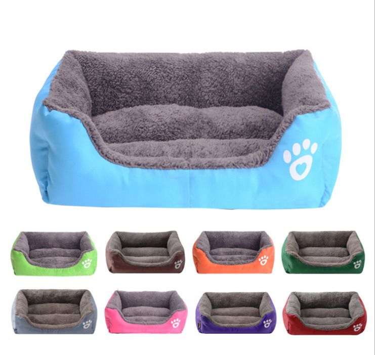 Pet Dog Cat Bed Puppy Cushion House Soft Warm Kennel Dog Mat Blanket Dog and Cat Cushion Bed Sofas Cat Dog Beds