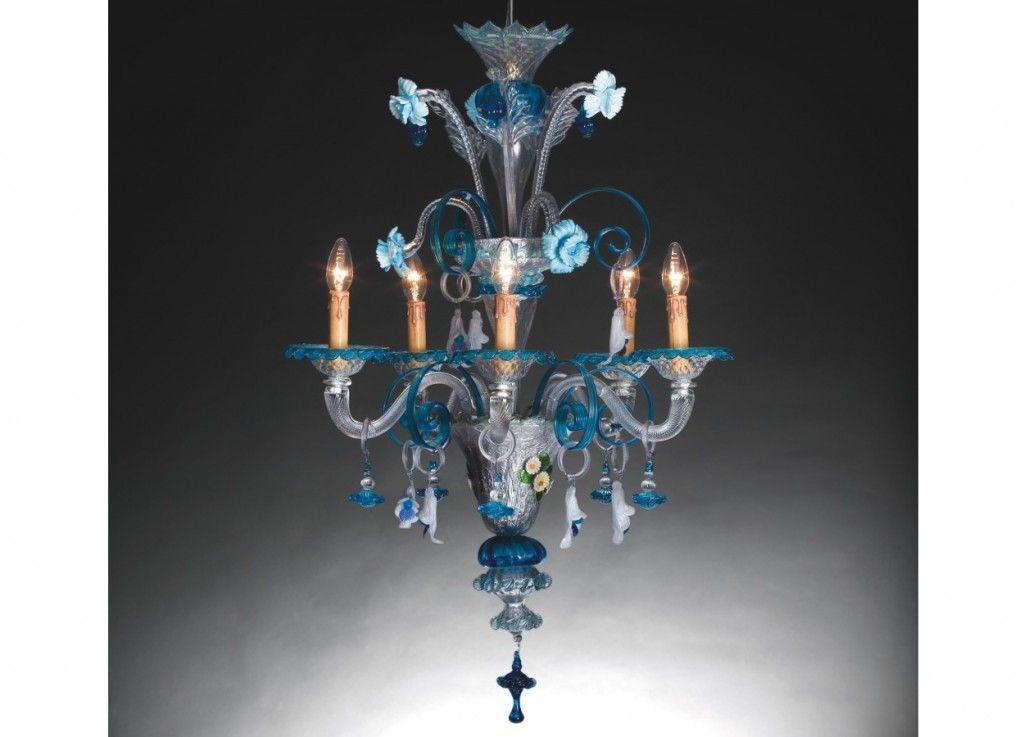 Lampadario vetro murano impressionante murano design iris lampada