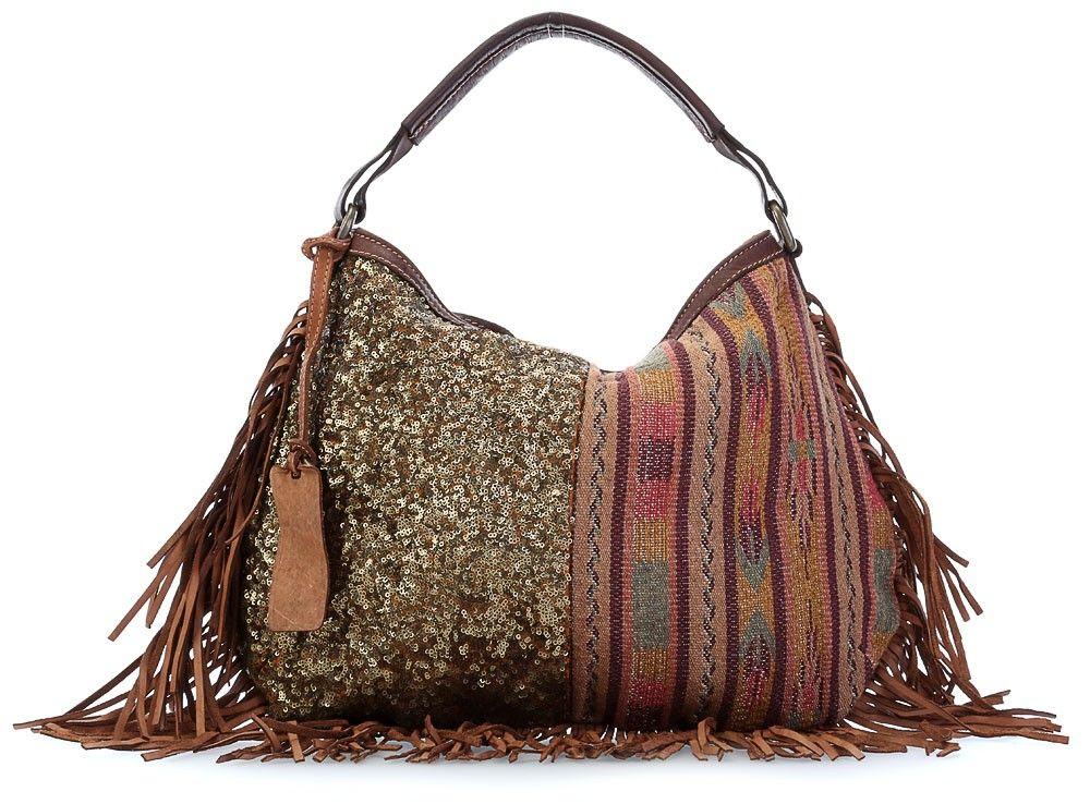 Bag boho caterinalucchi pailettes shopper - Wardow handtaschen ...