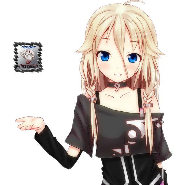 Render Vocaloid Ia Vocaloid Musiques Png Image Sans Fond Poste Par Therealsin Telecharger Le Render Vocaloid Anime Vocaloid Ia