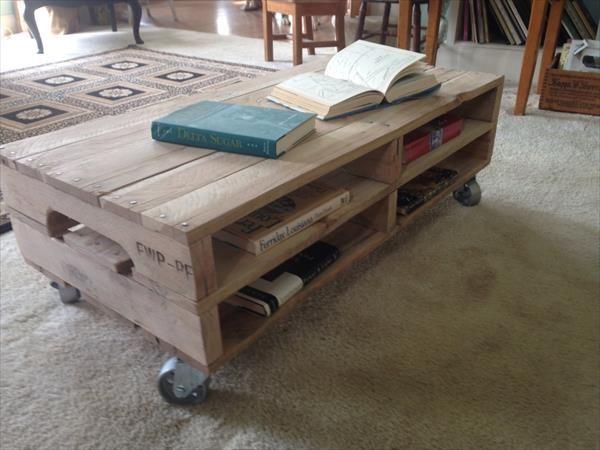 coffee table wheels storage - google search | coffee table ideas