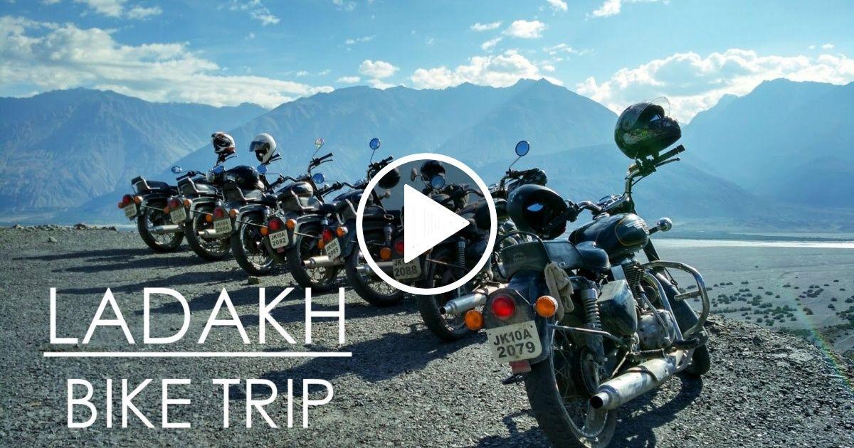 Ladakh Bike Trip With Images Bike Trips Trip Leh Ladakh