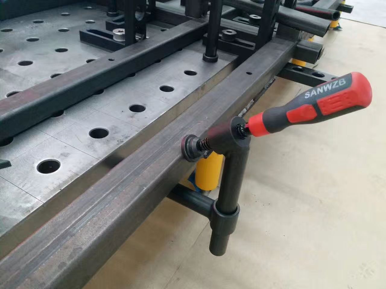 Welding Table For Sale >> 3d Welding Table Fixture Table Modular Welding Table Jig Table