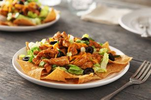 warm-chicken-taco-salad-52210 Image 1 #tacosalad