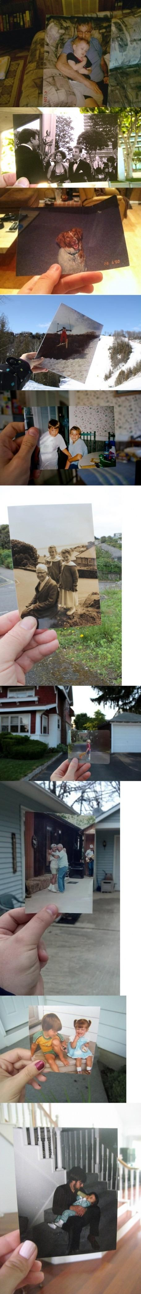 This is so cool to do with old pictures!