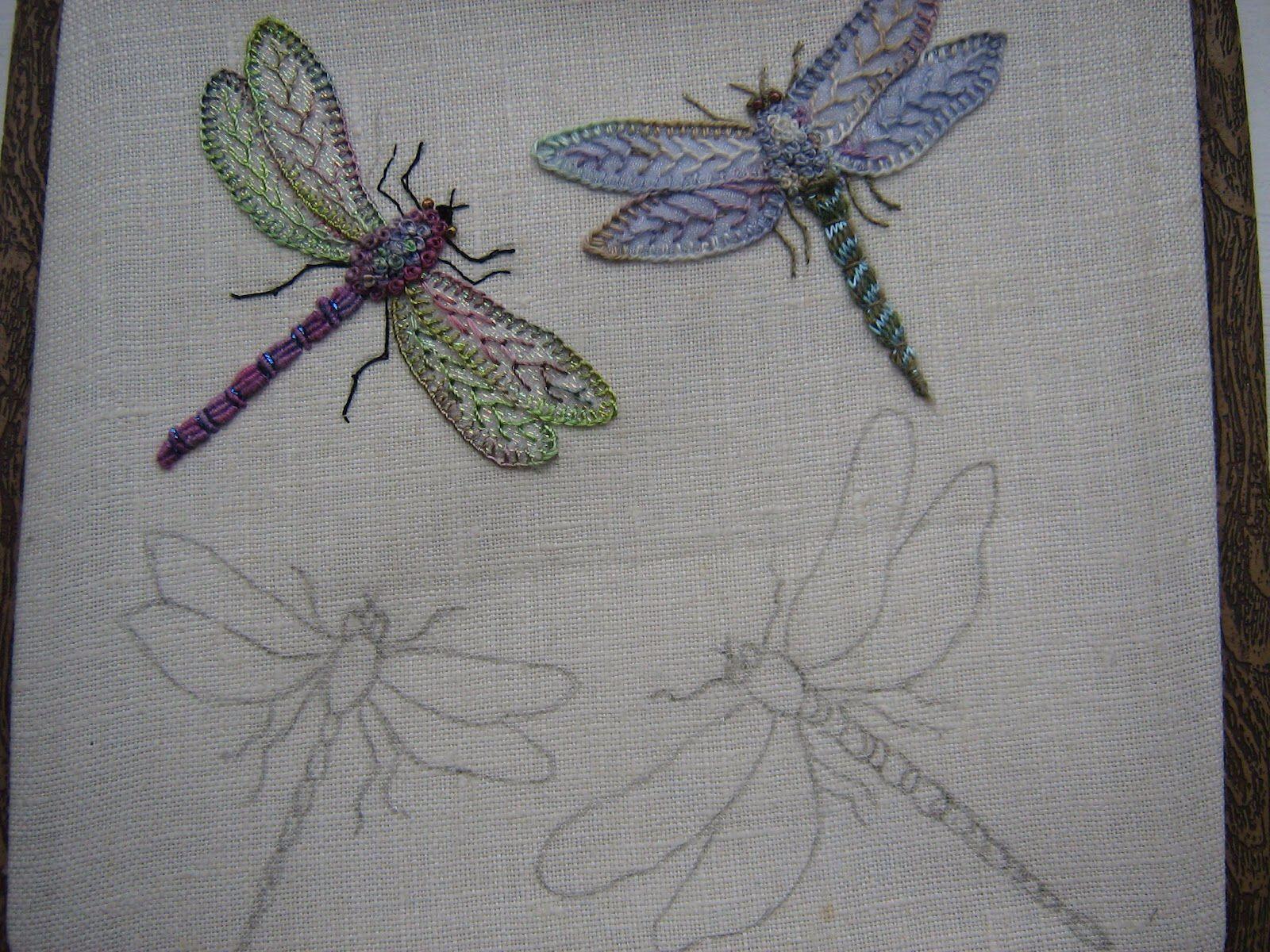 Øyenstikker - Dragonfly - Libellen | Libélulas | Pinterest | Bordado ...