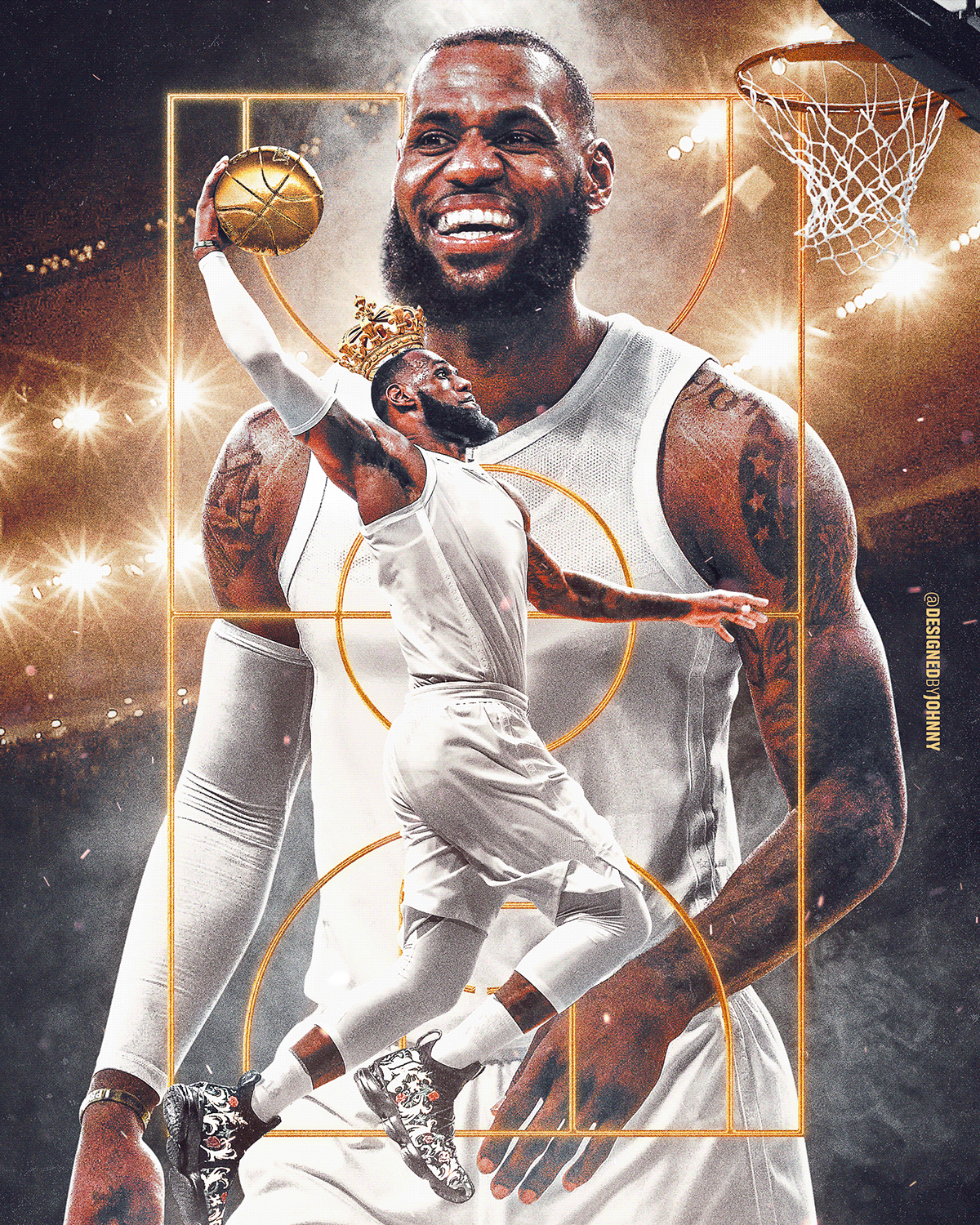 Nba The Finals Projects Photos Videos Logos Illustrations And Branding On Behance Lebron James Poster Lebron James Art Lebron James Wallpapers