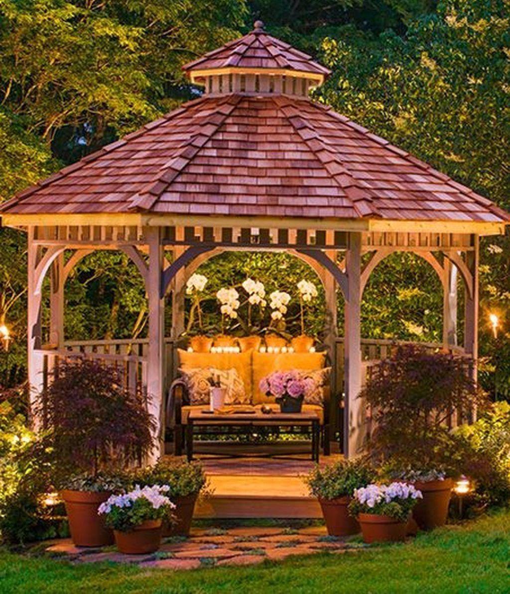 41 Creative Diy Backyard Gazebo Design Decoration Ideas Diy
