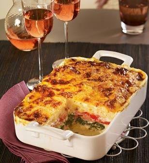 Kartoffel Kcal kartoffel spinat lasagne mit schinken lecker418 hauptspeisenca