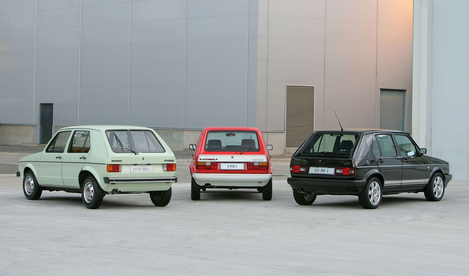 Vw Ends Golf I Production In South Africa With Citi Golf Mk1