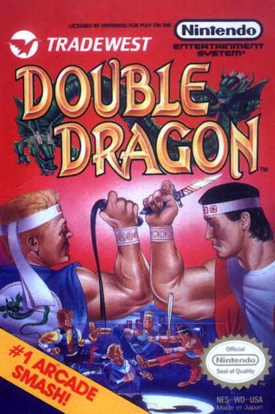 Double Dragon For The Nintendo Entertainment System Console De Jeux Video Retrogaming Jeux