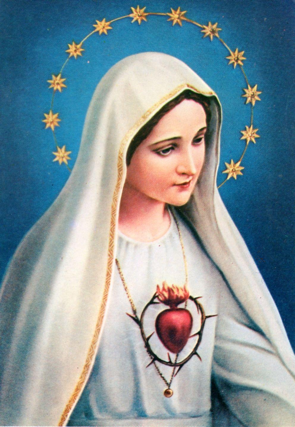 Corazon Inmaculado De Maria De Fatima Cova De Iria 1917 Oh