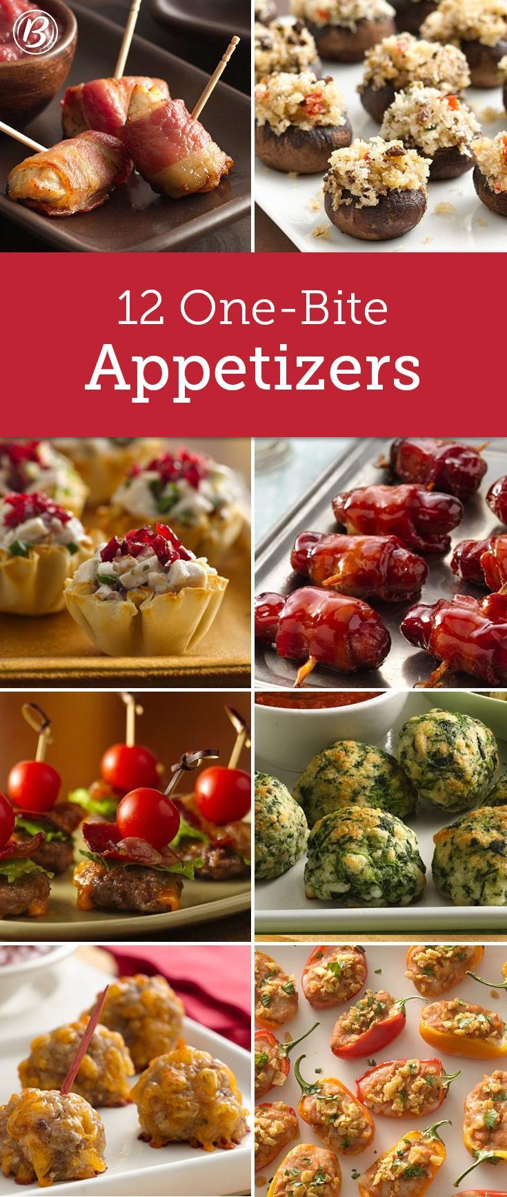 BiteSized FingerFoods Perfect for Buffets One bite