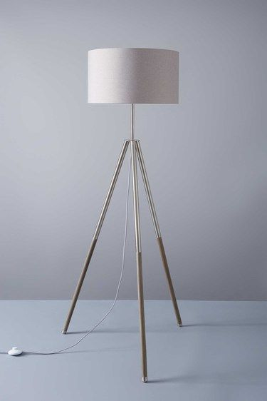 Alex shaded floor lamp bhs
