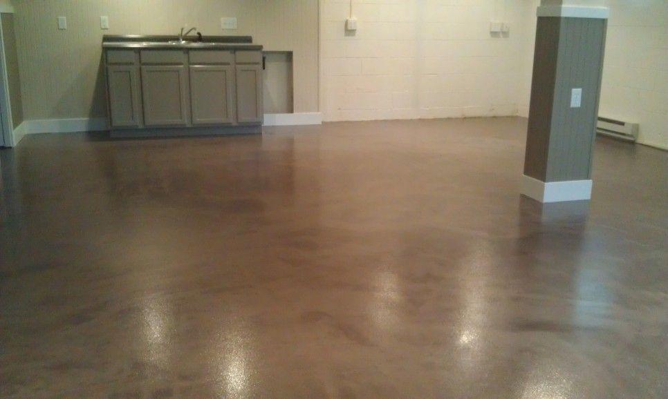 Interior Metallic Color Epoxy Basement Basement Floor Paint After Makeover House Basement Ideas Bas Basement Flooring Epoxy Floor Epoxy Basement Floor Paint
