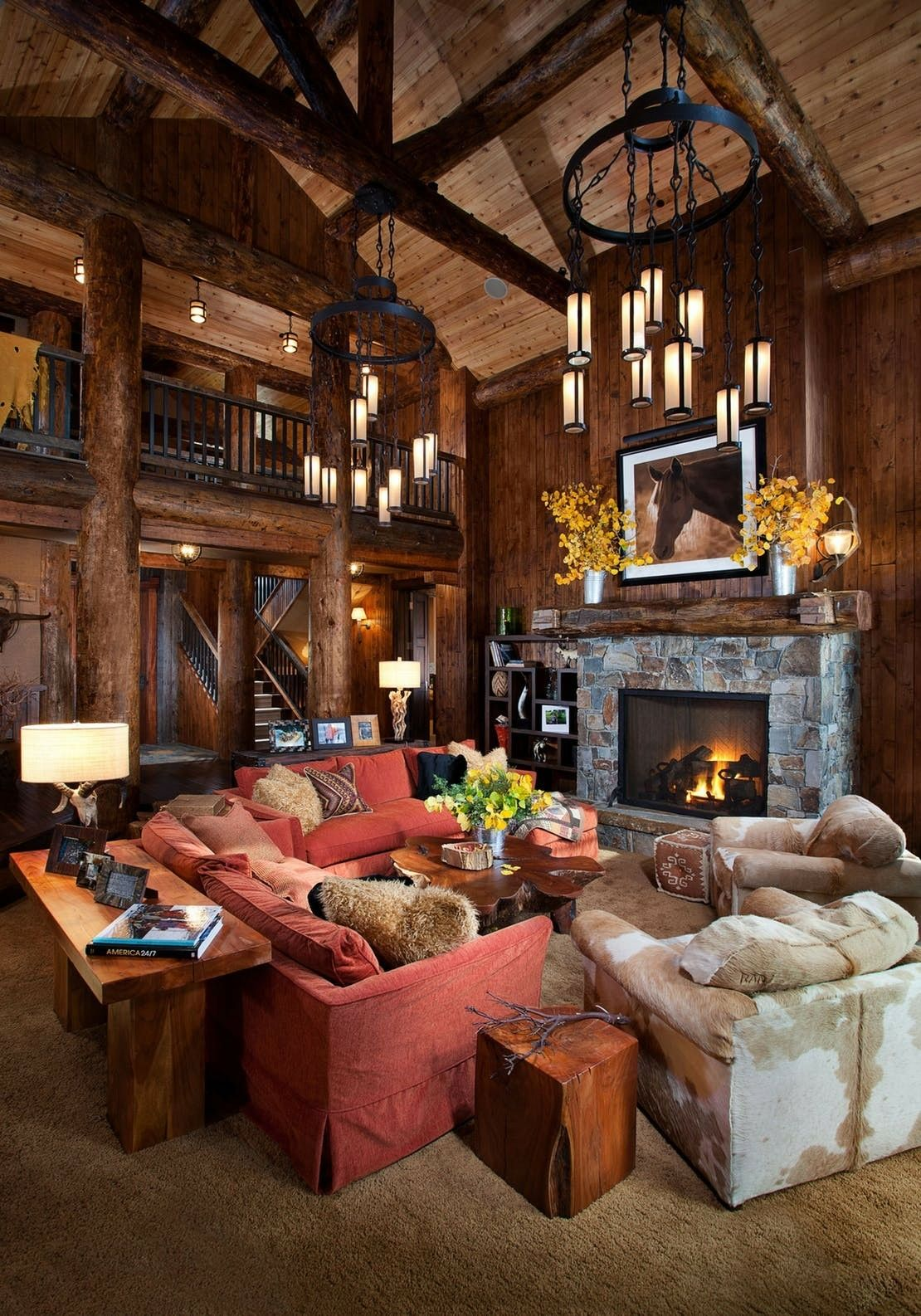 Artistic Inside Rustic Homes Interiors Pin By Andi On Home Pinterest Chalet Interior
