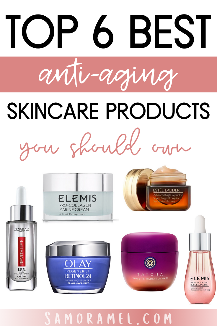 Samoramel Beauty Blogger Anti Aging Skin Products Aging Skin Care Recommended Skin Care Products