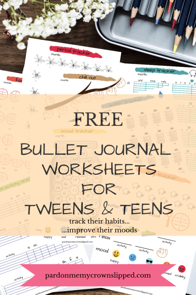 Why Are Tweens So Moody and How to Help? Bullet journal